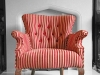 chair button back and stripe